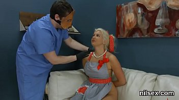 Foxy nympho was taken in butt hole nuthouse for harsh treatment
