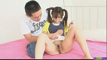 Guys shaving dicks Ponytailed asian chick shaved and nailed by two dicks