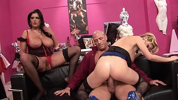 Big tidi Hot MILF Thots rides the sex shop owner´s big dick for not paying