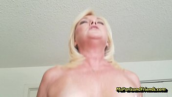 How Many Times Can This Horny MILF Cum?