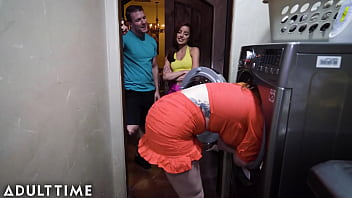 CoverStep-siblings Fuck Their Stepmom From Behind While She's Stuck! (Hot Threesome)