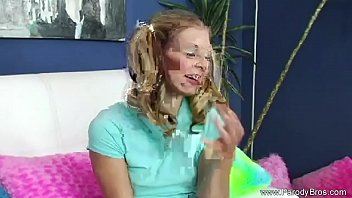 Pigtail Step Sister Getting Pounded