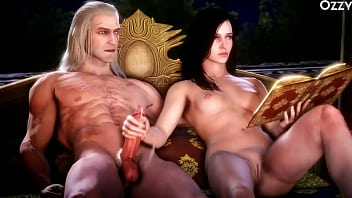 The Witcher 3 Porn Hunt full game porn movie 01h56min