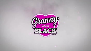 GRANNYLOVESBLACK – Lacey Loves Bouncing On Black Dick