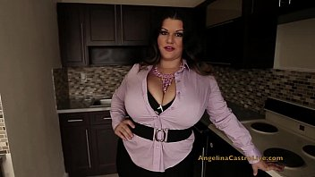 Big tits deepthroat Angelina castro is a real estate slut