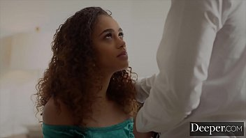 Deeper. Gorgeous Scarlit gets handcuffed and fucked hard