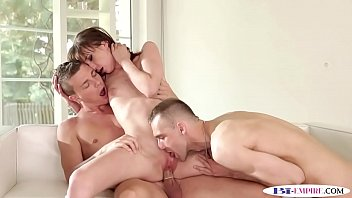 Doggystyle fucked stud orally pleasures babe Thumb