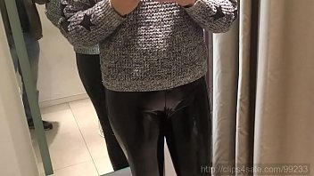 October 12, 2019 - In the changing room: two leather shorts 9 min