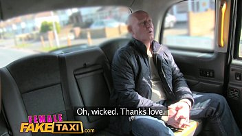 Female Fake Taxi Cabbie loves paramedics big cock