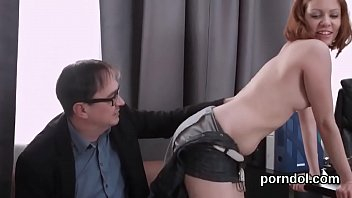 Tutor have sex - Lovely schoolgirl was teased and fucked by her older tutor