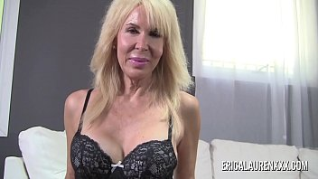 Big tit Erica Lauren giving a sensual handjob in POV