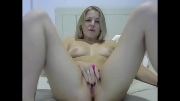 Teen masturbating on webcam