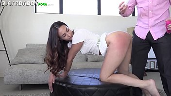 Sugar b. Jackie Is One Nasty SLUT For Daddy Dick - Spitting, Slapping, Spanking, She LOVES It All! 16 min