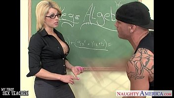 Sinfully teacher Brooke Haven fucking her y. student