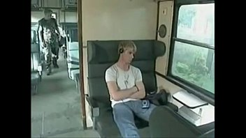 Gay teen blogspot Gatoesacana.blogspot.com - blond guys fuck on the train