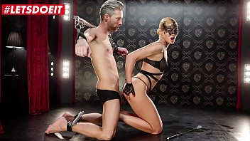 LETSDOEIT - #Cherry Kiss - Sexy Serbian Detective Plays With Her Favorite Suspect
