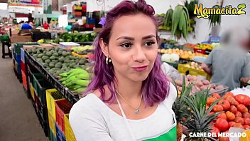 MAMACITAZ - Hot Latina Teen Veronica Leal Gets Picked Up From Market And Hardcore Banged On Cam