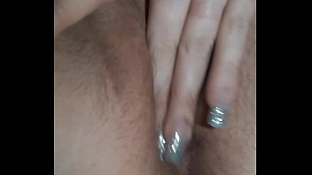 Watch me play with my wet pussy. Freaky milf gets turned on. Mom masturbation