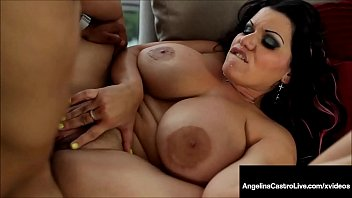 Big boob chubby girl video Phat ass cuban bbw angelina castro pounded by cum shooter