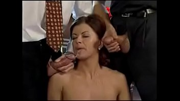 italiana housewife cazzo with  guys infront of her husband