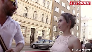 Letsdoeit - Petite Tourist Angel Smalls Goes For Anal Quickie With Random Guy That She Just Met