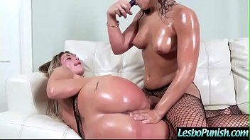 Hard Lez Punish Sex Tape Using Toys By Lesbo Girls (abella kissa) video-09