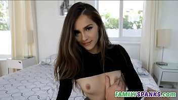 Slut Sister Stroking Brothers Cock