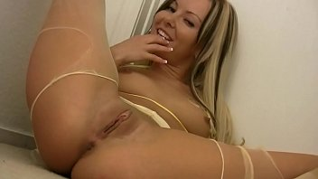 Masturbation With Beautiful Blonde With Small Pussy