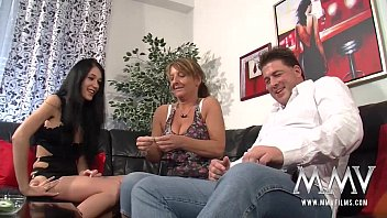 mmv films amateur mature threesome with his bf wife min