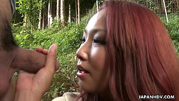 Kinky Japanese chick Seto Himari takes it in the rear