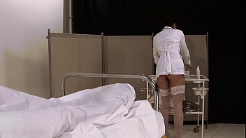Docter fucking his patient - Sexy nurse fucks her patient