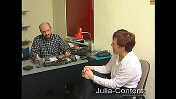 Erna gets fucked at the job interview