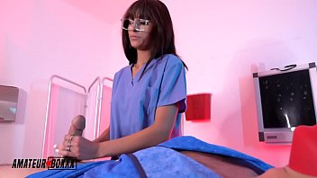 AmateurBoxxx - Psycho Nurse Dana Wolf is Good with Her Hands