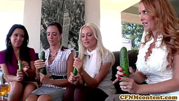 CFNm Janet Mason giving a blowjob lesson