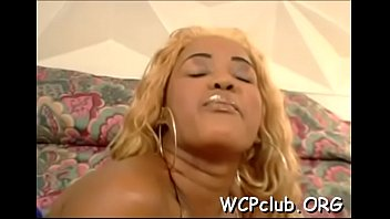 Internet free sex play Black babe feels chubby rod of ebony thug in face hole and twat