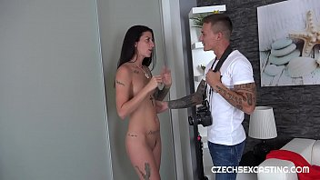 CZECH MILF ALI BORDEAUX ON SEX CASTING