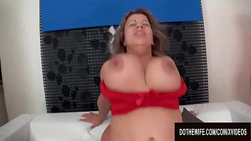 Natural Big Tits Wife Sylvia Wayne Cuckolds Her Petty Hubby with a Bald Man