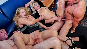 Mature steamy - Reife swinger - wild mature german swingers fuck hard in dirty foursome