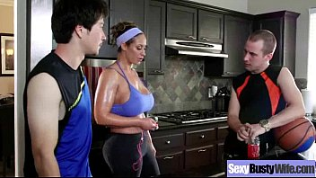 Busty Milf Wife (eva notty) Bang Hardcore In Front Of Camera movie-12
