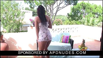 Hot naked girl playing Nina leigh by apdnudes.com