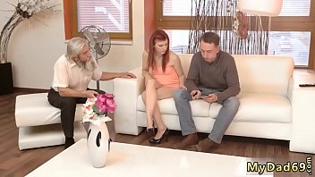 Daddy cums inside crony' companion's daughter and old young hardcore 7 min