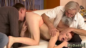 Old man fucks granny first time Unexpected experience with an older