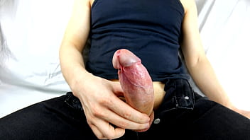 Clip sex After A Walk In Jeans Without Panties Big Cock Strong Erection, Ejaculation Without Using Your Hand