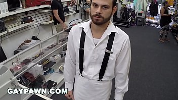 GAY PAWN - Broke Ass Dude With Poor Credit Walks Into My Shop Looking For Help thumbnail