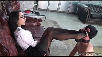 Japanese Dominatrix Youko Boot and Foot Worship