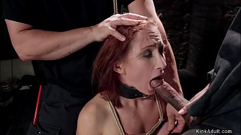 Zippered slave trainee gets fucked