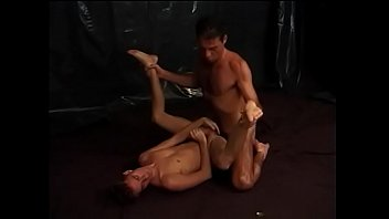 Randy stud shoots cum on stud's face after fucking his ass and mouth