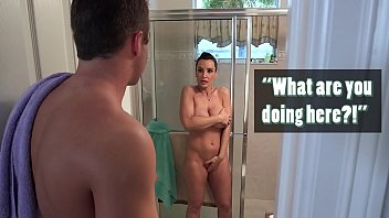 BANGBROS - Lisa Ann Fucks Her Step Son & His Girlfriend Ava Taylor