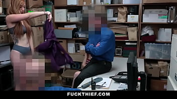Milf and Daughter Boned By Creepy Security Officer