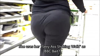 BBW Ass Shakers - BBC BAIT!